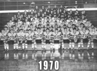 1970 Oak Hill Eagles Football Team
