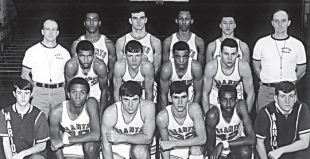 1968-1969 Marion Giants Boys Basketball Team
